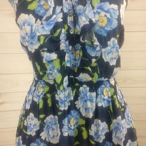 Abercrombie & Fitch Dresses - Abercrombie & Fitch X-back Floral Dress w Pockets!